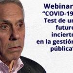 """Webinar: """"COVID-19: Test de un futuro incierto en la gestión pública"""""""