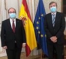Secretario General del CLAD cumple agenda de actividades en Madrid